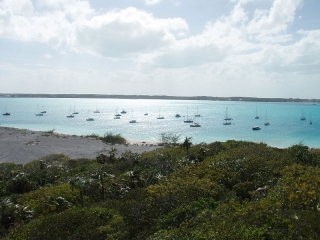 Elizabeth Harbour, Bahamas, Jan 2009