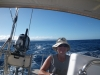 Karen Sailing to Martinique