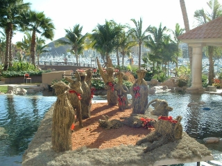 Cabo San Lucas nativity scene Mexico2004