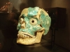 Jade covered skull, Monte Alban treasures