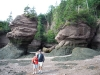 K&R at Hopewell Rocks,New Brunswick, Aug2016