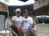 Karen & Richard, Panama Canal Transit
