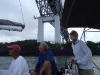 Sailing under the Bridge of the Americas, Panama
