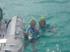 Tobago Cays swimmimg