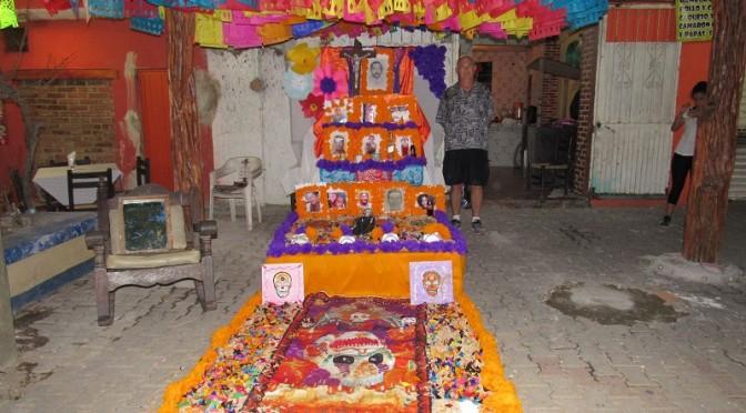 Día de Muertos Barra style